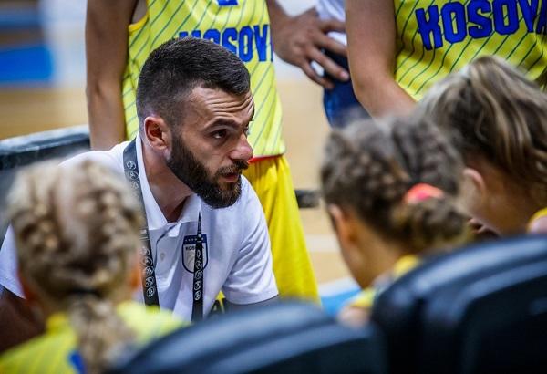Illmen Bajra coach Kosovo U18