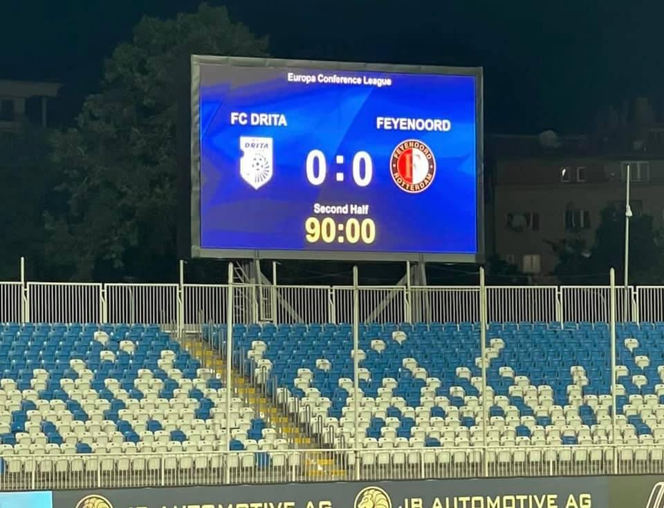 Drita vs Feyenoord