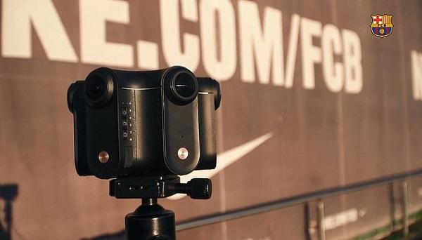 VR Cameras @ Camp Nou