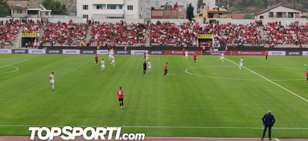 Super Armando Broja, Shqipëria me meritë mposhtë Hungarinë
