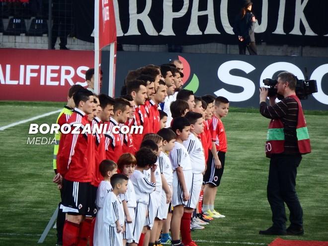 Kombëtarja shqiptare, miqësore me Armeninë më 7 tetor