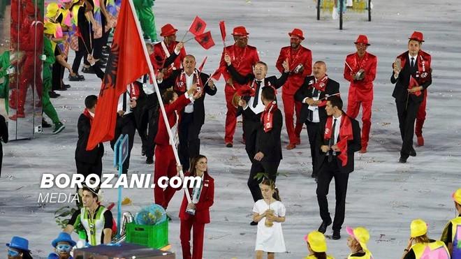 Gega kapitene e Shqipërisë në Rio