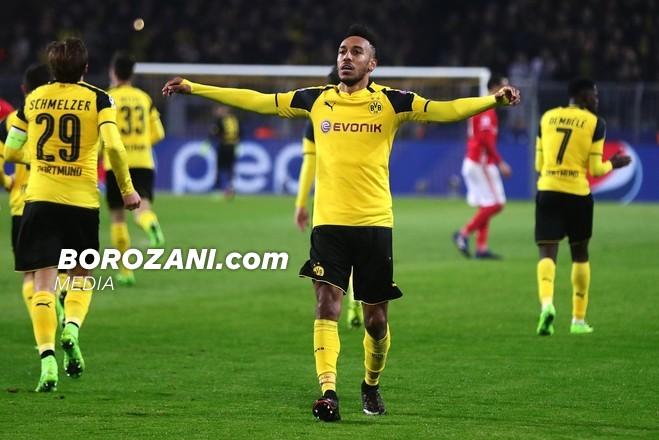 Super Aubameyang, Dortmundi kualifikohet