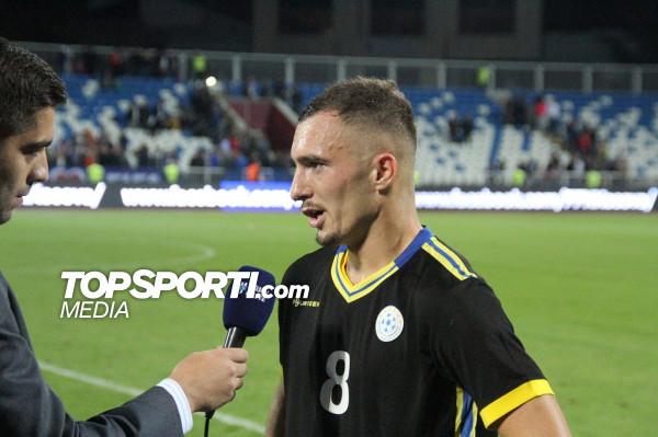 Hasani: Nuk është me rëndësi minutazhi im, por skuadra