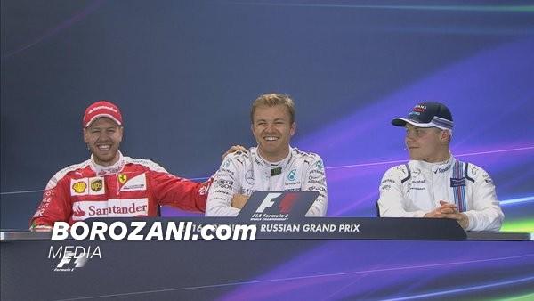 Rrëshqet Hamilton, Rosberg i pari