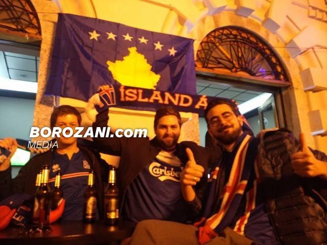 Direkt nga Shkodra, 'vikingët' i urojnë fat Kosovës