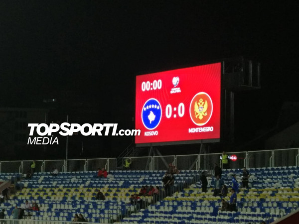 Kosova vs. Mali i Zi, 11-shet startuese