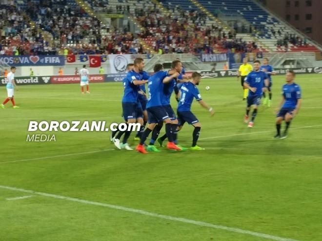 Kosova në disavantazh pas 45 minutave
