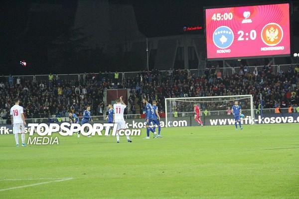 Kosovës 5, Malit të Zi 15 mijë euro dënim nga UEFA