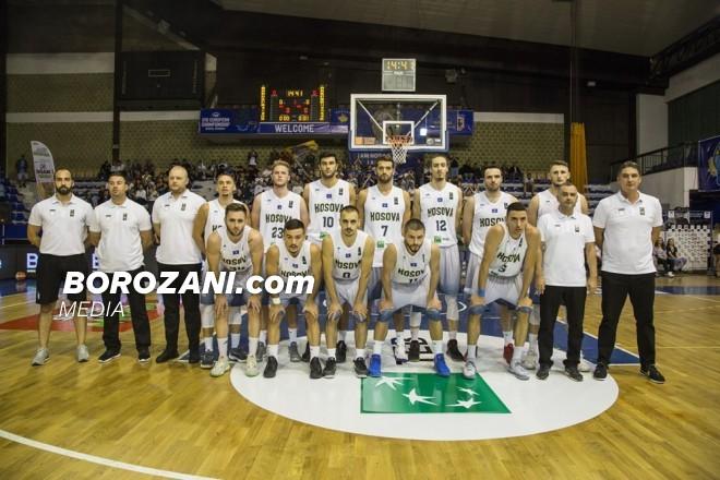 Reprezentuesi i Kosovës në 5-shen e javës në FIBA Europe Cup