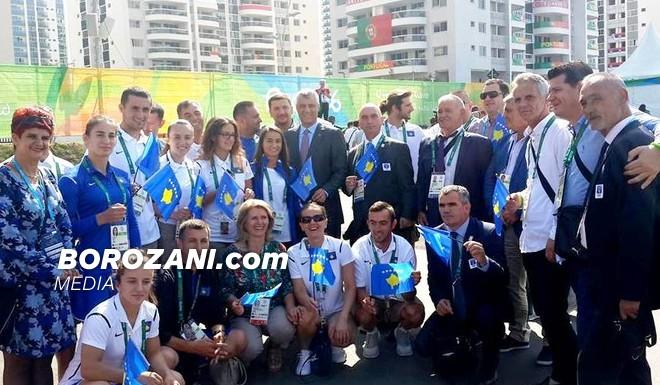 Ngritet flamuri i Kosovës në fshatin olimpik