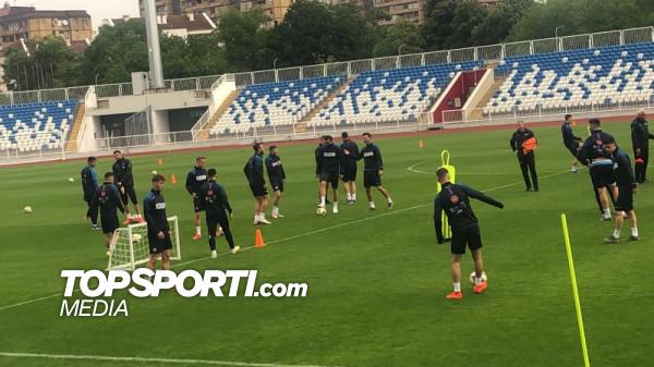 Nisin stërvitjet e Kosovës para dueleve të qershorit