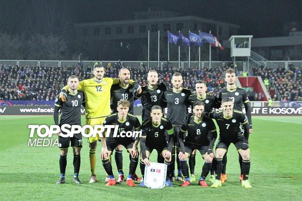 Formacioni i mundshëm i Kosovës ndaj Bullgarisë