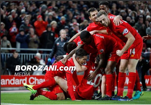Liverpooli s'gabon, vazhdon ndjekjen e kreut