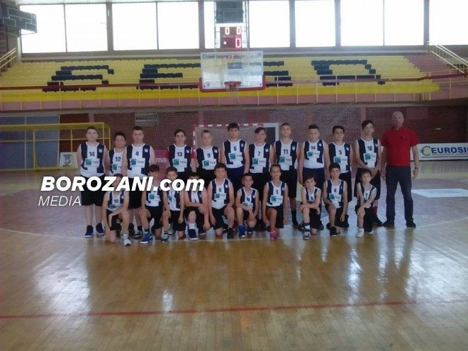 NewBasket kampion i Kosovës për moshat U12