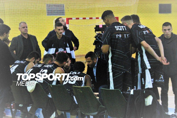 Mbyllet pjesa e parë në ndeshjen Borea - Prizreni