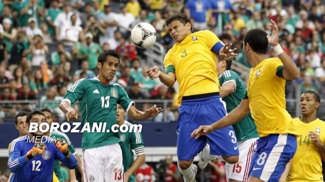 Thiago Silva në skenë, për çerekfinale