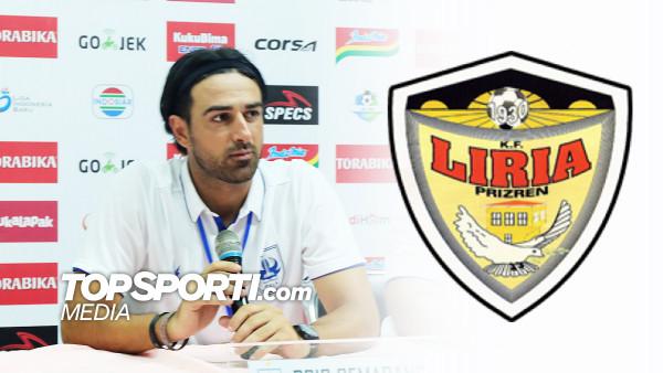 Liria me trajner nga Italia!