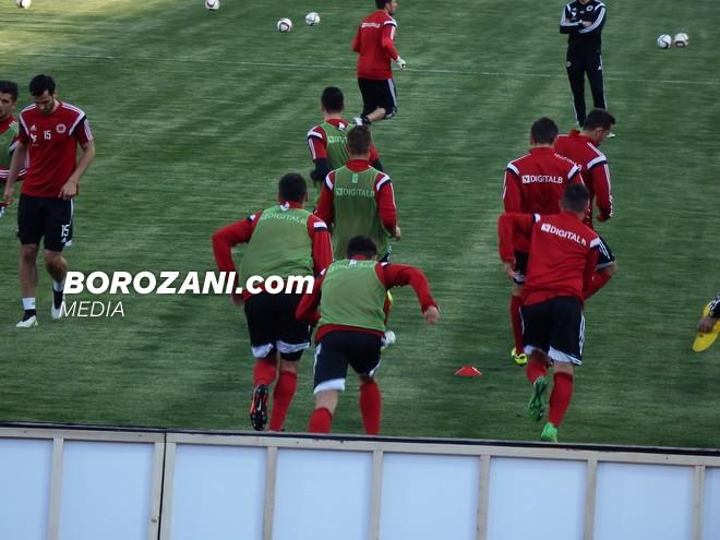 Formacionet zyrtare: Shqipëria - Maqedonia