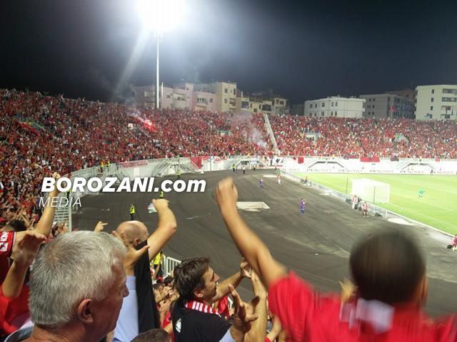 Një pozitë, ngritje për Shqipërinë në renditje të FIFAs