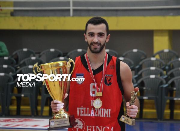 Arion Balluku MVP në finalen e Kupës (Liga e Parë)