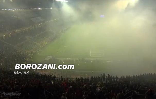 Ndërprehet ndeshja ndërmjet Italisë dhe Shqipërisë