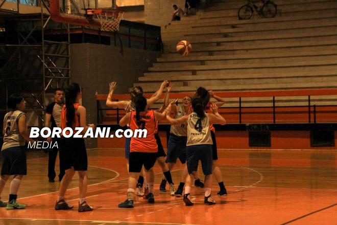 Prishtina-Bashkimi, dueli i xhiros së dytë te femrat