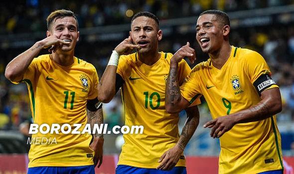 Formacionet: Serbia - Brazili