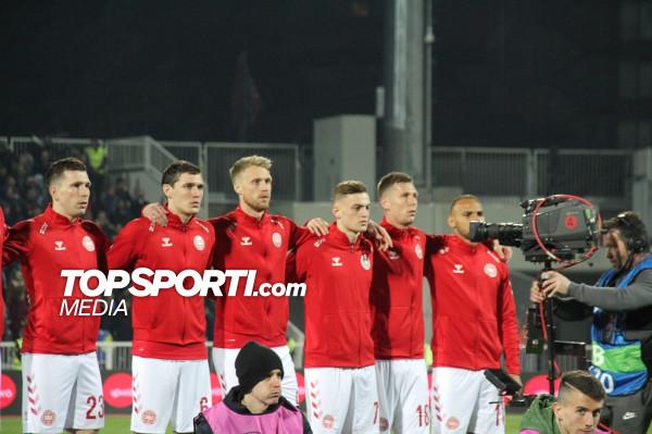 Danimarka publikon listën përfundimtare për EURO 2020