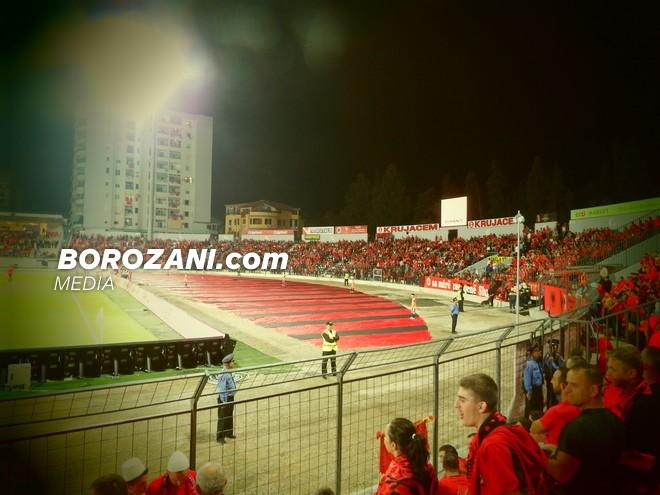 FSHF përcakton stadiumin për Shqipëri-Moldavi
