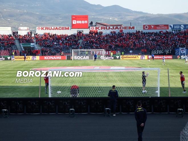 As 500 bileta s'u shitën për Shqipëri-Lihtenshtajn