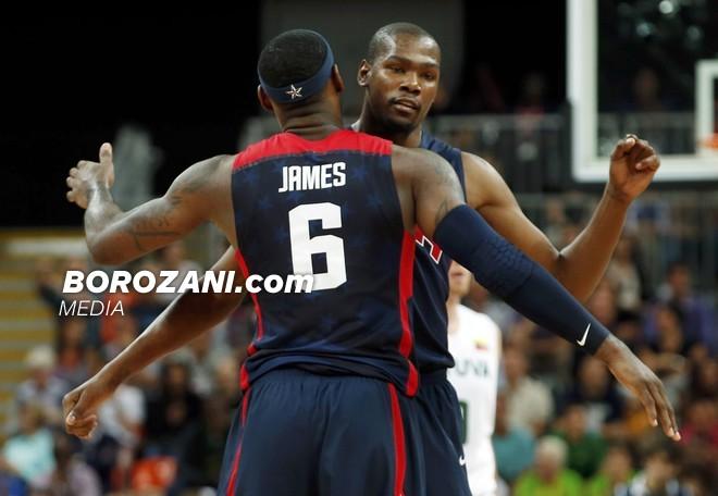 James përkrah Durantin