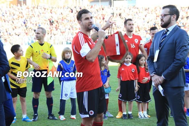 Cana zyrtarisht mbyll karrierën në ndeshjen Shqipëri-Itali