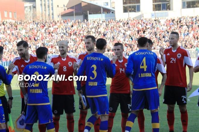 Historia e ndeshjeve Kosovë - Shqipëri
