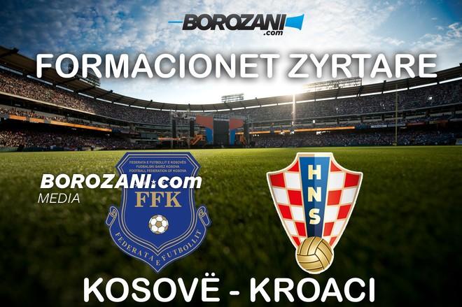 Formacionet zyrtare: Kosovë-Kroaci