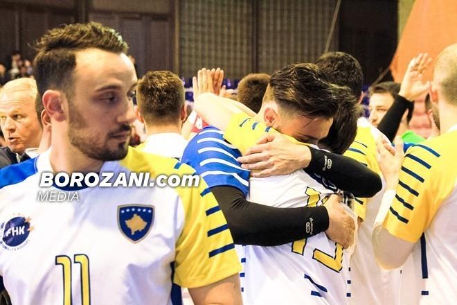 Kosova merr pikën historike në hendboll