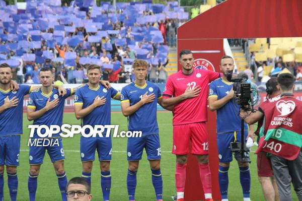 Formacionet zyrtare: KOSOVA - Sllovenia
