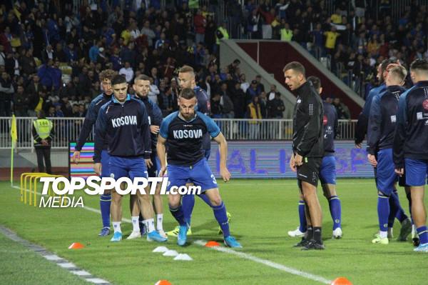 Kosova zhvilloi stërvitjen me 15 lojtarë
