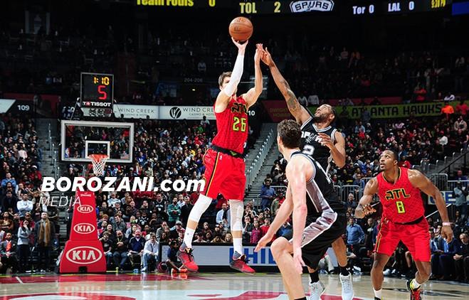 Hawks përfundon serinë e keqe ndaj Spursit