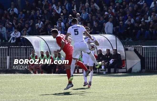 5 gola, përjashtim e penallti e shpërdoruar, Liria fiton