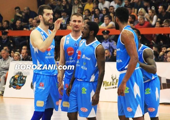 Rruga e Prishtinës, kryqëzohet me kampionin e FIBA Europe Cup