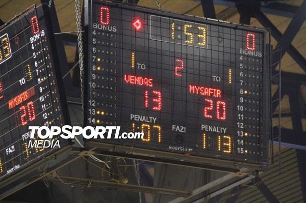 Prishtina vs. Legia, mbyllet pjesa e parë
