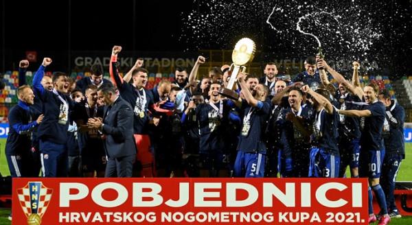 Lirim Kastrati e Arijan Ademi fitojnë Kupën e Kroacisë me Dinamo Zagrebin