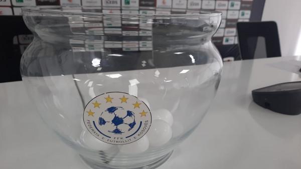 Kupa e Kosovës, shorti i plotë i çerekfinales