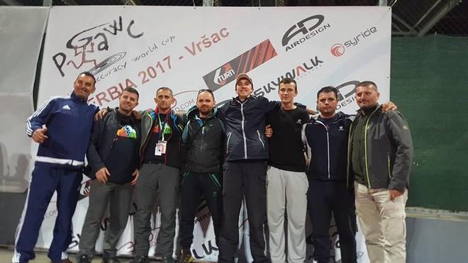 """Ekipi i Kosovës shkëlqen në garën """"Paragliding Accuracy World Cup"""" në Serbi!"""