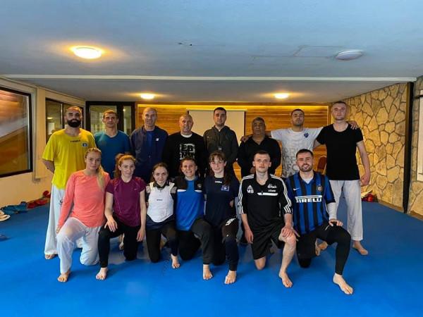 Karateistët përgatiten në Boge për Kampionatin Evropian