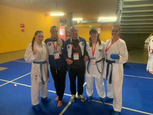 Karateistet kosovare shënojnë fitore ndaj Polonisë