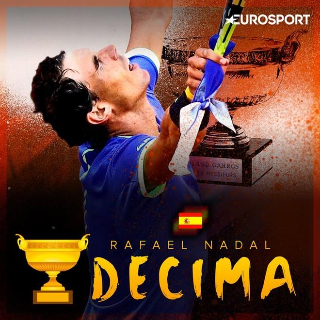Për të dhjetën herë, Nadal