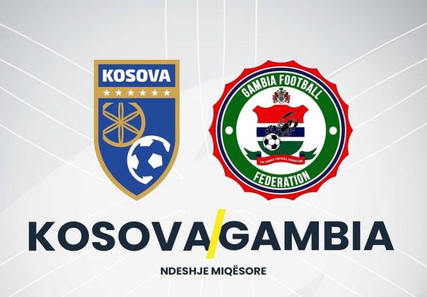 Mbyllet pjesa e parë, ky është rezultati i ndeshjes Kosova - Gambia