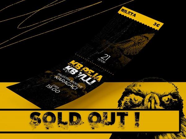 """Për derbi në """"Karagaç"""" shiten të gjitha biletat"""